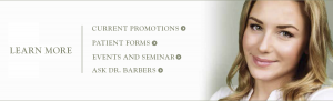 Promotions - Forms - Events - Ask Dr. Barber