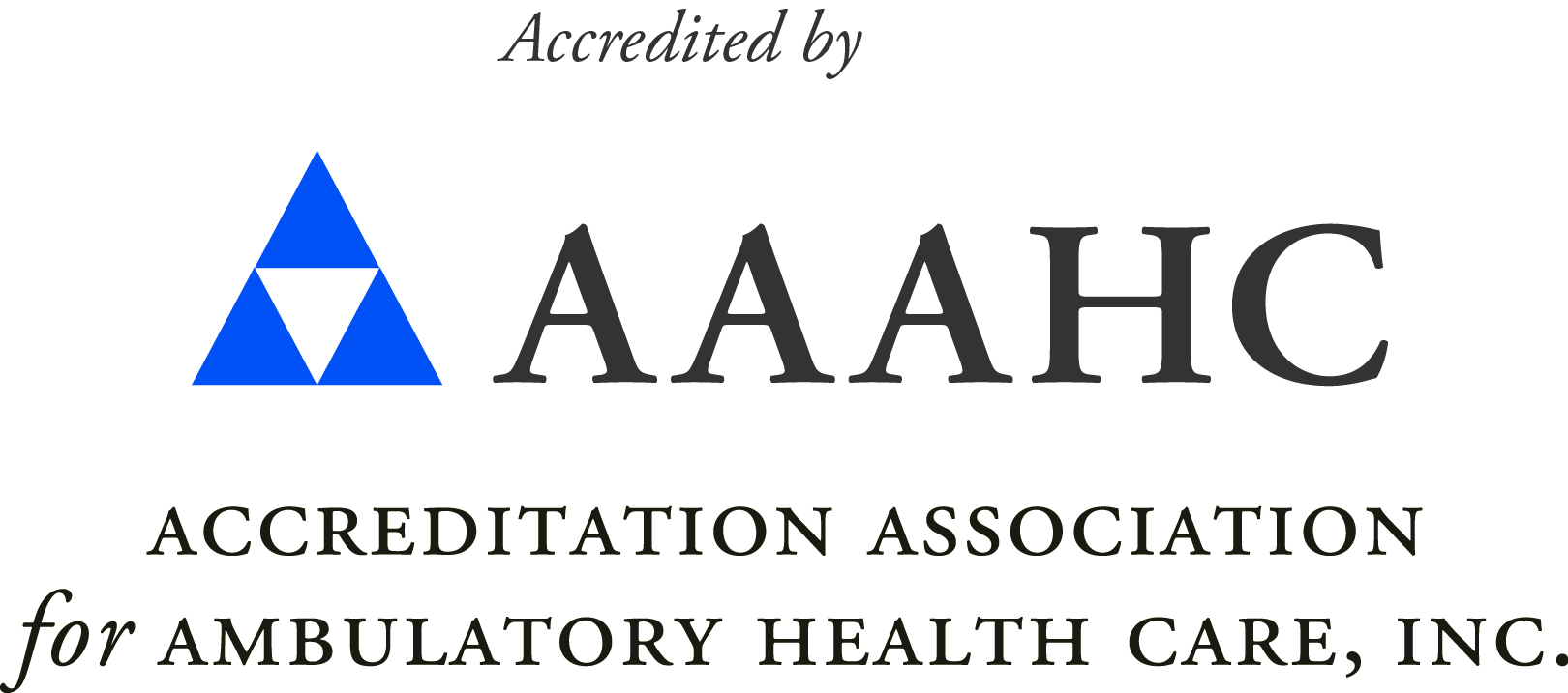AAAHC Logo Acronym and Longform Color