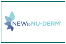 New to Nu Derm Logo